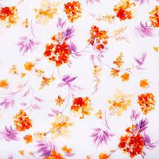 Тюль «Робина» 1 п/м 280 см мелкие <b>оранжевые</b> цветы в Москве ...