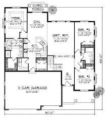 3 bedroom house plans with attached garage. bungalow house plan 73005 8 cool design ideas floor plans attached garage 3 bedroom with 2