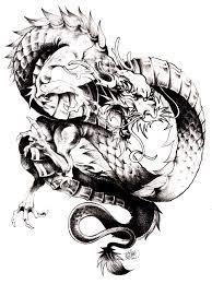 Magnifique Dragon Chinois Imprimer Et Colorier Dans La Galerie Galerie De Coloriages Gratuits Coloriage Dragon Chinois Dessin Dun Dragon Chinois L