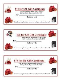 75 for 35 gift certificates