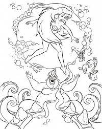Baby Mermaid Coloring Pages Mysyria