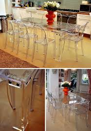 Excellent Decoration Clear Dining Table Wonderful Ideas 1000 Ideas About  Clear Chairs On Pinterest