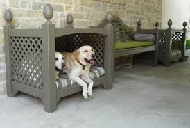 custom outdoor dog bed