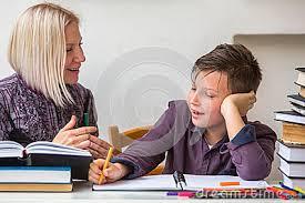 Homework Help Stock Photo   Image           Dreamstime com