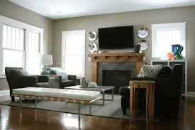 Living Room With Fireplace Decorating Ideas Home Design Impressive