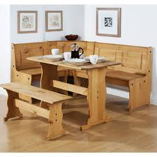 wood kitchen table with bench how to build a corner bench dining table set cole