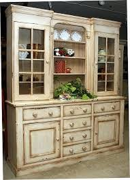 Country Style Hutches And Buffets Pc Country Style Sideboard Buffet &  Display Hutch Country Kitchen Hutch ...
