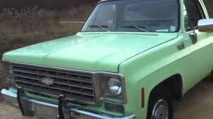 1976 c10 pickup....SLEEPER!! - YouTube