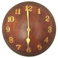 arts crafts oak and brass wall clock for heals mi217 morgan strickland on wall clock arts and crafts with arts crafts oak and brass wall clock for heals mi217 morgan