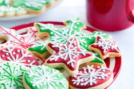 easy christmas sugar cookies. Recipes Peppermint Christmas Sugar Cookies With Royal Icing For Easy