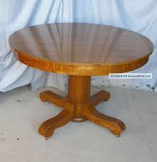 antique round oak dining room table dining room decor ideas and showcase design
