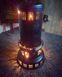 How To Light A Kerosene Heater Add Christmas Lights To Vintage Kerosine Heaters Oil
