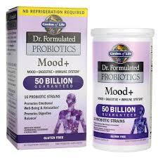 garden of lifedr formulated probiotics mood