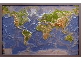 Map Of The World Background Background Quality Physical Map Of The World 1366x768 Widescreen