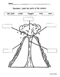 1917d3201fc27e9fb9712291861d6735 volcano worksheet volcano project cross section of a volcano science geology for kids on force and motion worksheets