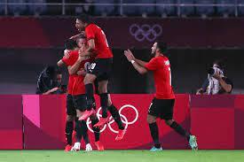 المنتخب المصري يتأهل لربع نهائي الأولمبياد والسعودي يودع بصعوبة