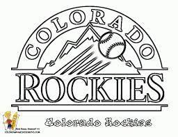 Baseball Teams Coloring Pages 2018 Open Coloring Pages