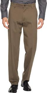 Dockers Mens Easy Khaki D3 Classic Fit Pants Dark Pebble 33 34 34