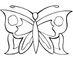 Free Butterfly Coloring Pages Butterfly Coloring Pages For Toddlers