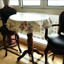 small round table cover large round table mat embroidered high end round table cloth large round