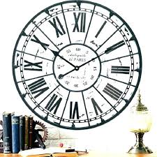 36 inch wall clock inch wall clock large wall clock inch metal wall clock inch wall
