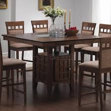 Kitchen Table And Chairs Bar Height Kitchen Tables Counter Height Set Rolle By Acme