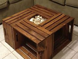 rustic coffee tables with storage for stunning table