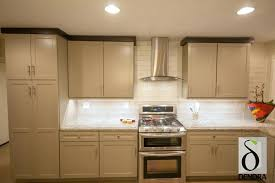 doors painted shaker in a custom kitchen ikea cabinet solid wood