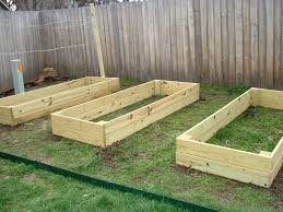 free vegetable garden planter box plans 10 inspiring diy raised garden beds ideasplans and designs