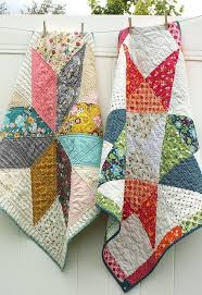 Best 25+ Baby quilts ideas on Pinterest | Baby quilt patterns ... & Easy DIY Star Baby Quilt Tutorials - Diary of a Quilter - a quilt blog Adamdwight.com