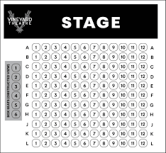 Vt Seating Chart 2019 1 Vineyard Theatre