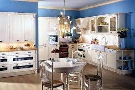 blue country kitchens. French Country Blue Modern Kitchen Kitchens N