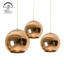 china replica copper shade and mirror ball glass pendant lamp china lighting pendant lighting