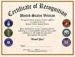 Sample Certificate Of Appreciation Mesmerizing Military Certificates Of Appreciation Templates Keni