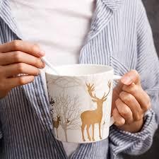 european cup office coffee. HIBOUR Cartoon Beer Mugs Creative European Style Christmas Present High Capacity Breakfast Ceramic Cups Office Coffee Mug 550ml-in From Home \u0026 Garden Cup C