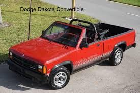 1989 DODGE DAKOTA CONVERTIBLE SPORT SUPER SHARP RARE CONVERTIBLE ...