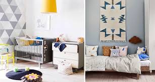 geometric shapes baby bedding designs