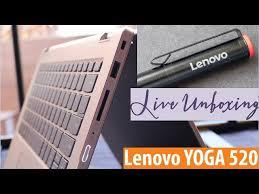 lenovo yoga 520 14ikb unboxing review