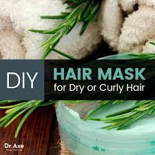 diy hair mask dr axe