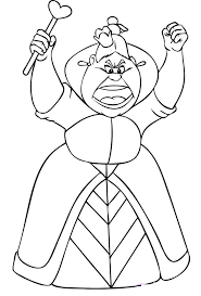 Small Picture Free Printable Alice in Wonderland Coloring Pages