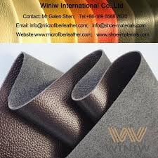 leather look microfiber upholstery leather fabric for furniture