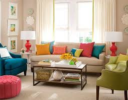 colorful modern furniture. Full Size Of Interior:casual Modern Living Room Designs With Colorful Decor Regard To Furniture