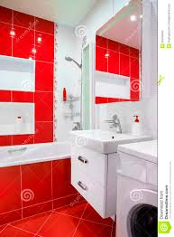 Dark Red Bathroom Accessories Red Bathrooms