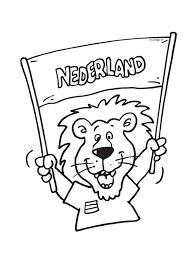 Kleurplaten Holland Voetbal Nvnpr