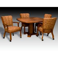 home design captivating dinette sets with casters in dining rolling chairs wearesircle dinette sets