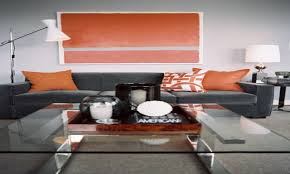 Orange And Grey Living Room Orange Things For Living Room Best Living Room 2017