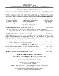 Examples Of Teacher Resumes Resume Template Easy Http Www