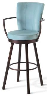 best tall bar stools with backs elegant bar stool with back and arms padded swivel bar
