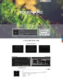 Soundclick Website Design