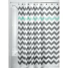 chevron shower curtain hover to zoom interdesign cameo tension rod p